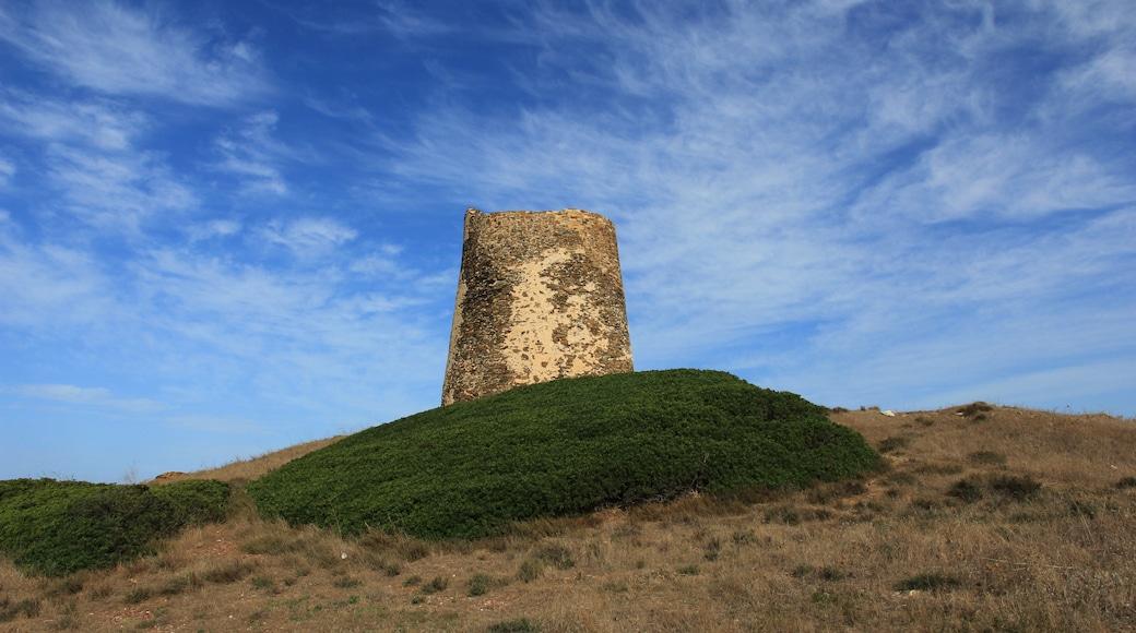 """Foto """"Torre dei Corsari"""" di Discanto (CC BY-SA) / Ritaglio dell'originale"""