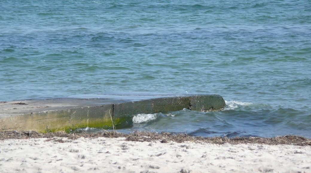 """Foto """"Strand Scharbeutz"""" von Qwesy (CC BY)/zugeschnittenes Original"""
