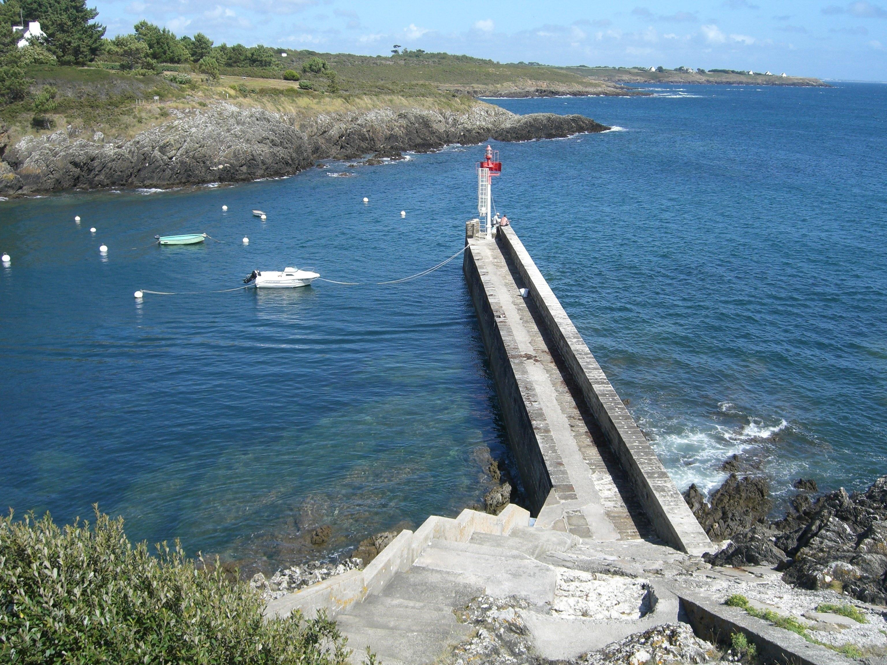 Moelan-sur-Mer, Finistere, France