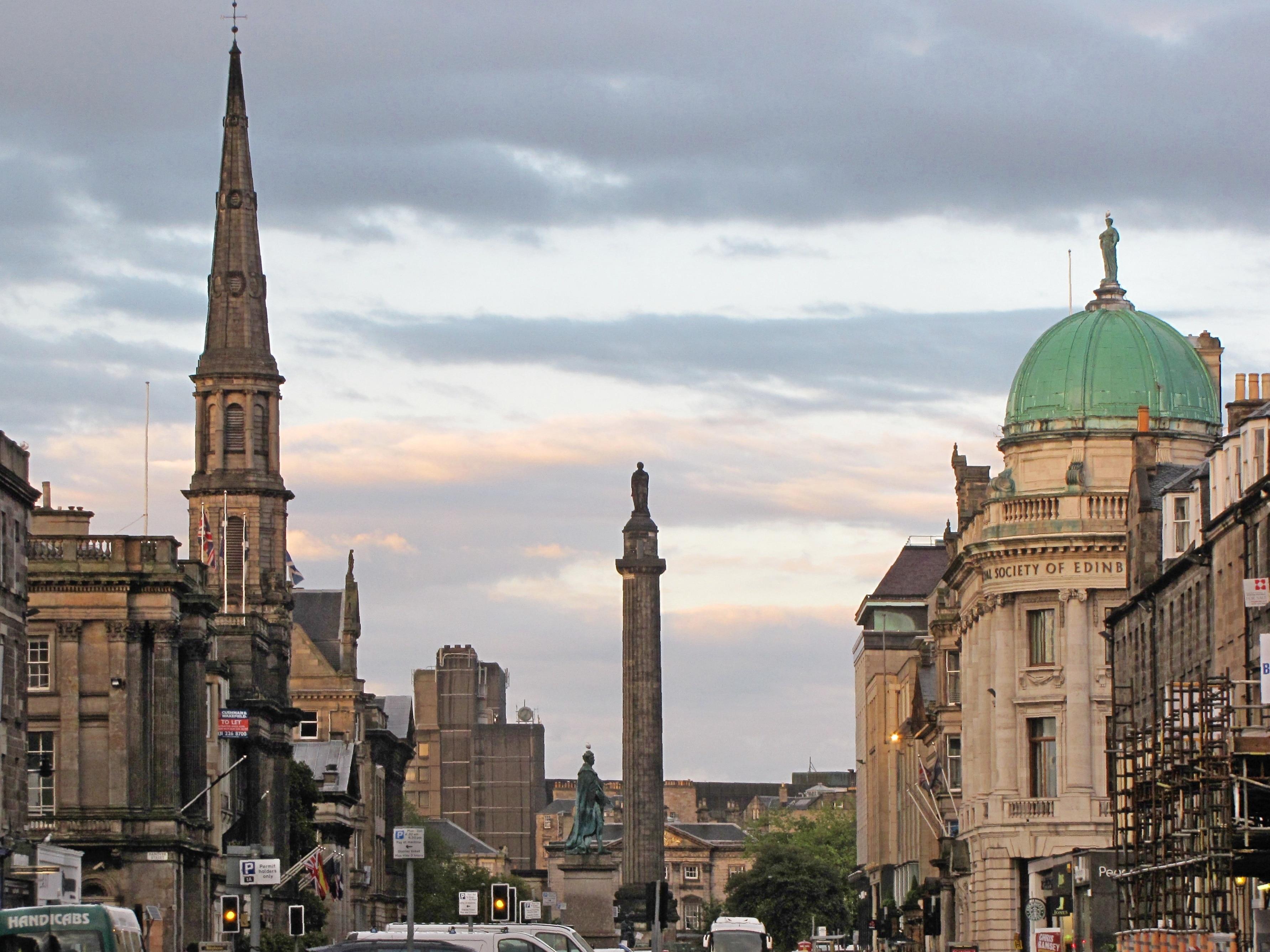 George Street, Edinburgh, Scotland, United Kingdom