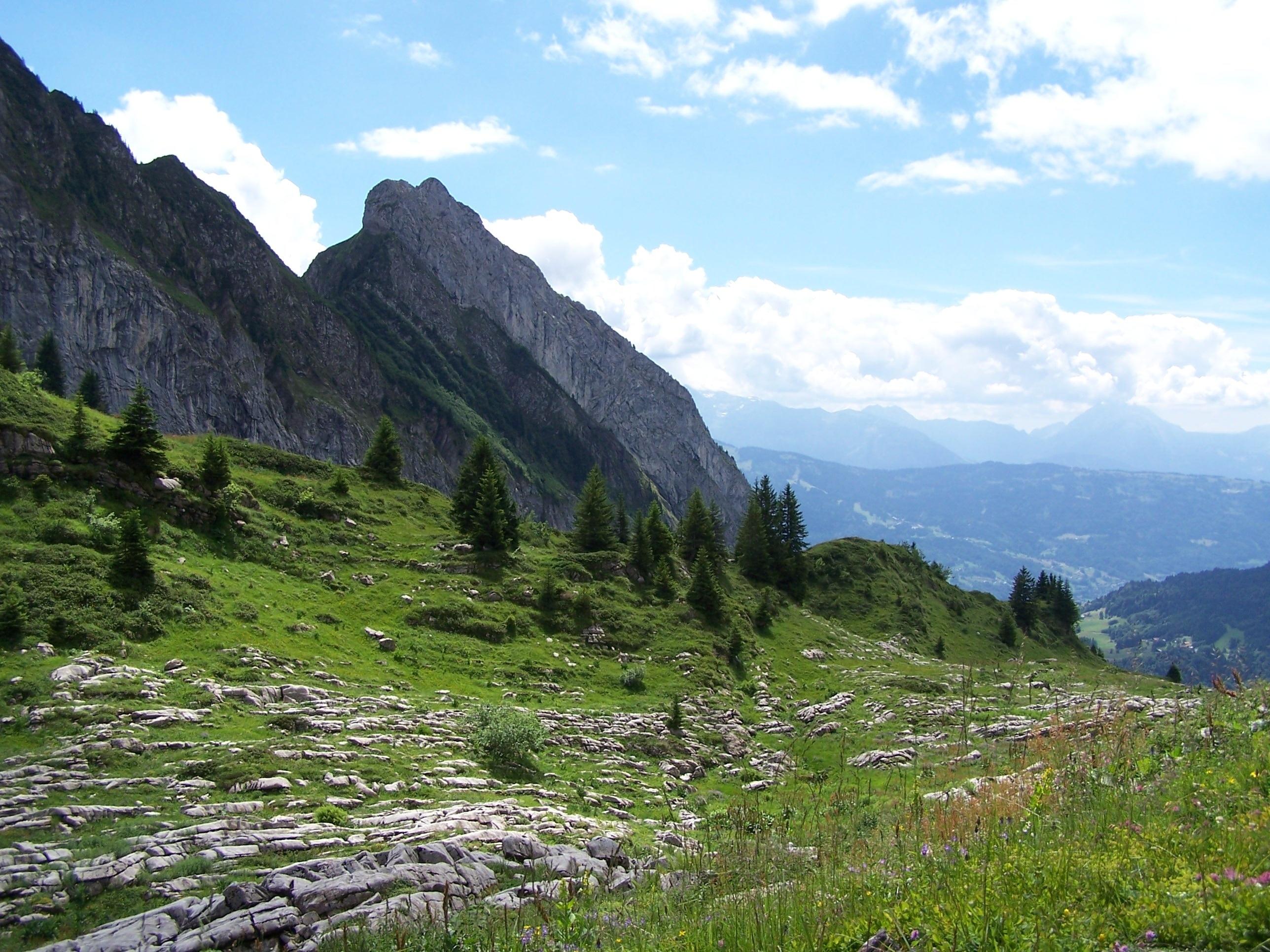 Samoens, Haute-Savoie, France