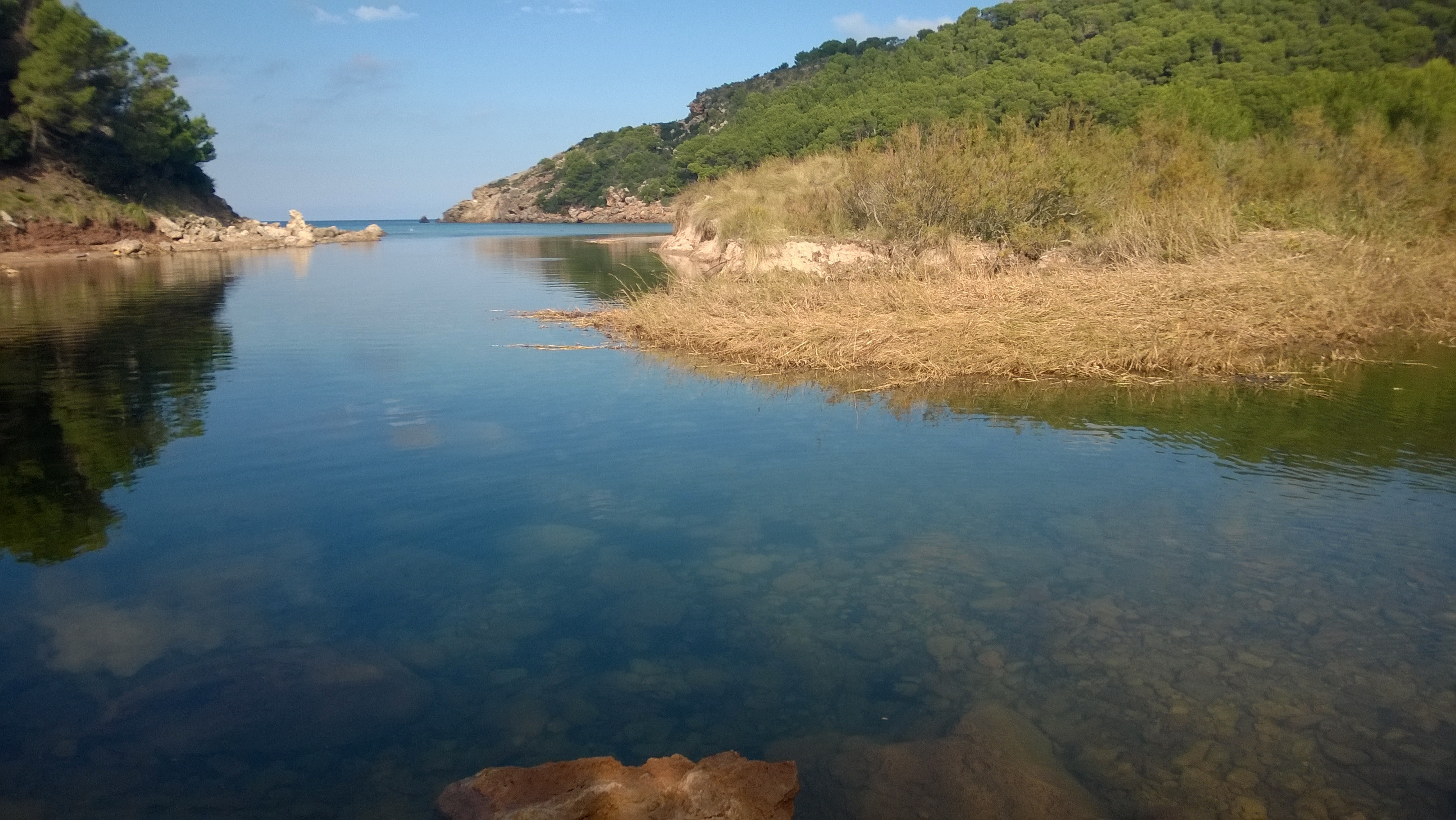 Playa Des Bot, Ciutadella de Menorca, Balearic Islands, Spain