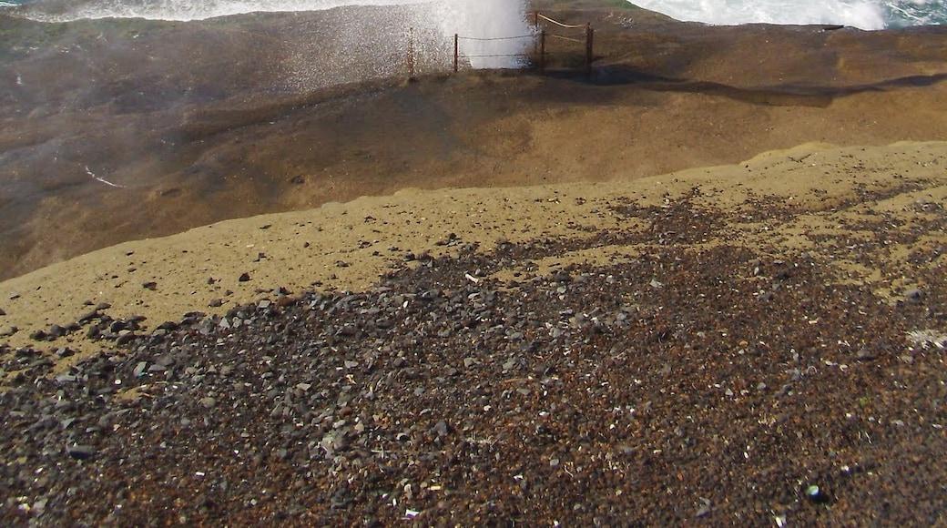 Foto 'Playa de Torviscas' van Ivan Curra (CC BY-SA) / bijgesneden versie van origineel