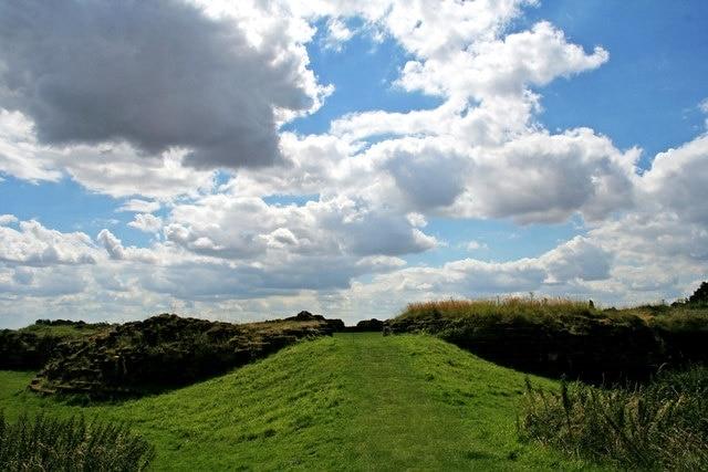 Bolingbroke Castle, Spilsby, England, United Kingdom