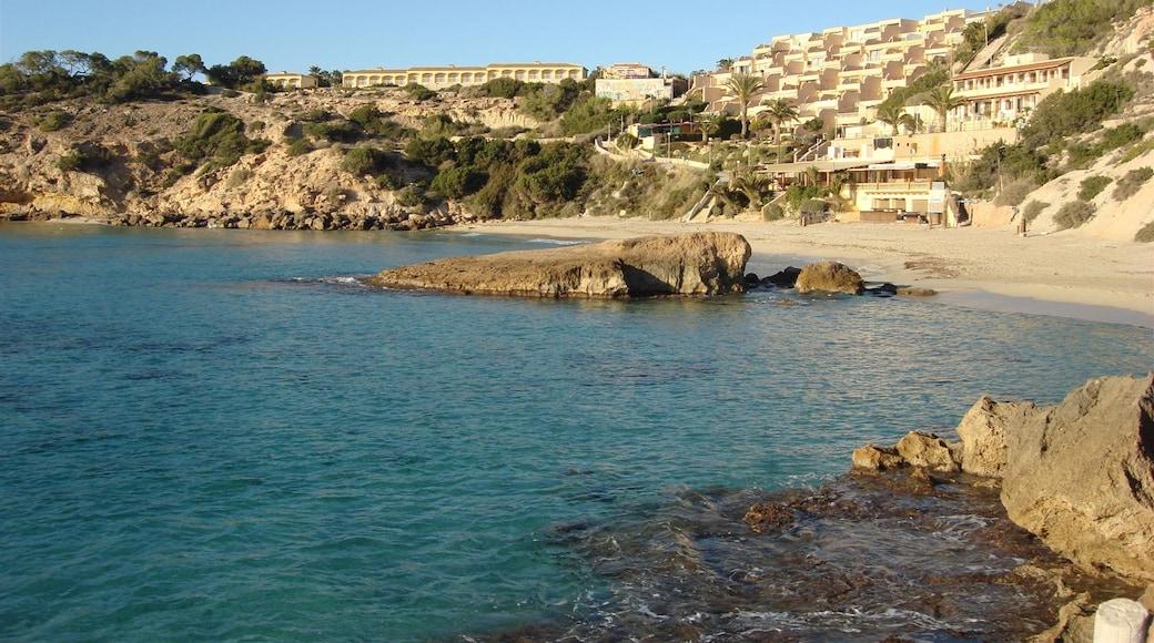 """Foto """"Playa Cala Tarida"""" por anibal amaro (CC BY) / Recortada de la original"""