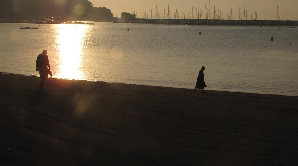 Foto 'Strand van Sant Feliu de Guíxols' van Jose Francisco Villa… (CC BY-SA) / bijgesneden versie van origineel