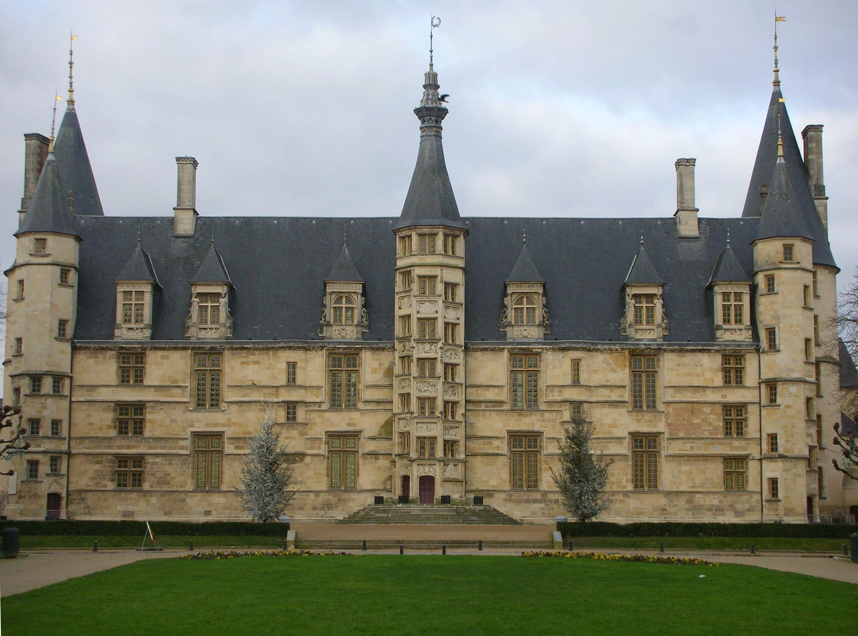 Palais Ducal, Nevers, Nievre, France