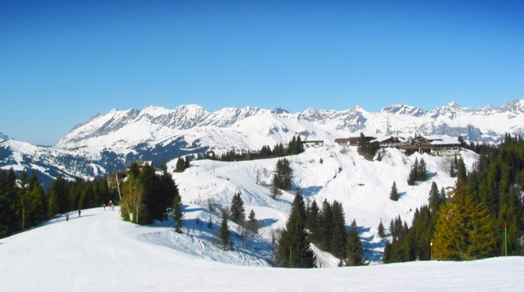 """Photo """"Saint-Gervais Ski Resort"""" by Helle Krog (CC BY) / Cropped from original"""