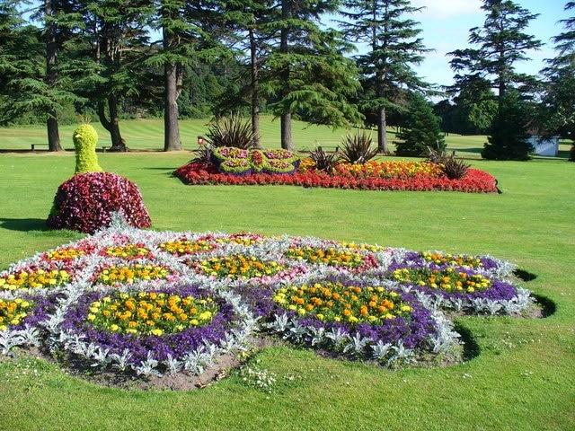 Grant Park, Forres, Écosse, Royaume-Uni