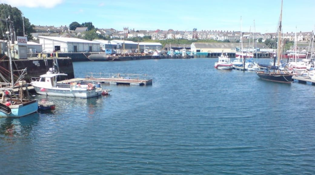 """Photo """"Milford Haven"""" by Deborah Tilley (CC BY-SA) / Cropped from original"""