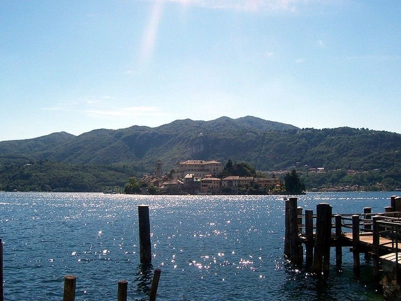 Lake Orta, Piedmont, Italy