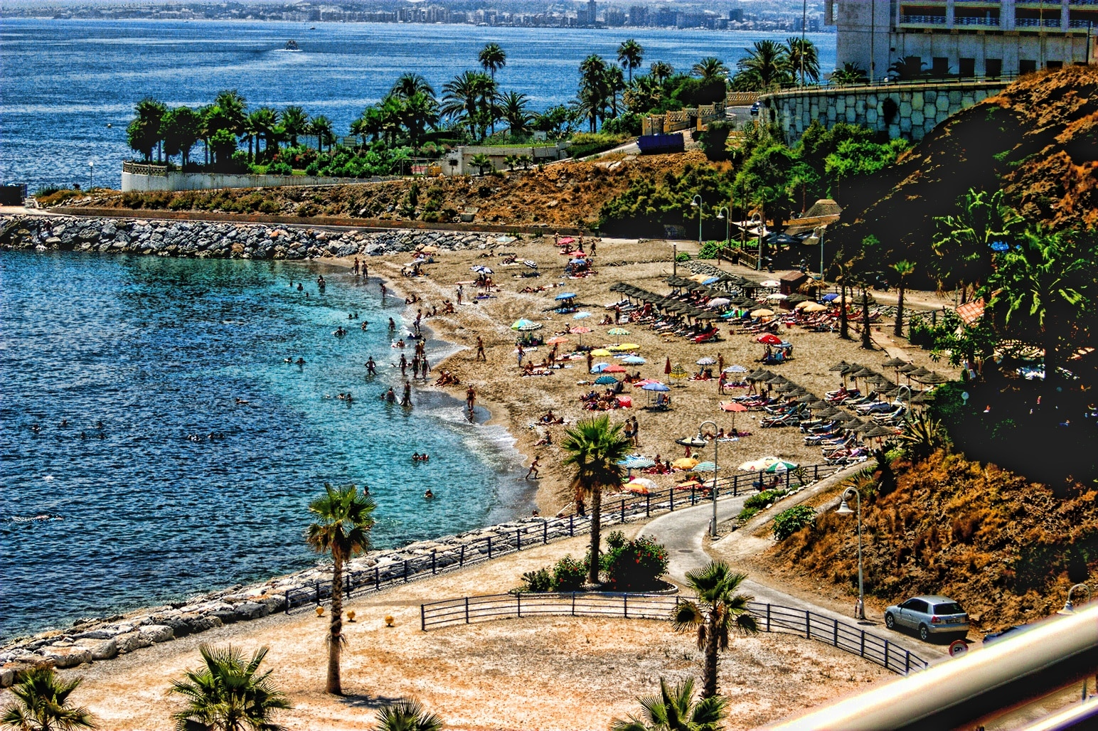 Playa La Cala, Spanien