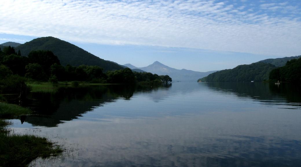 Lake Hibara-ko, Fukushima pref., Japan