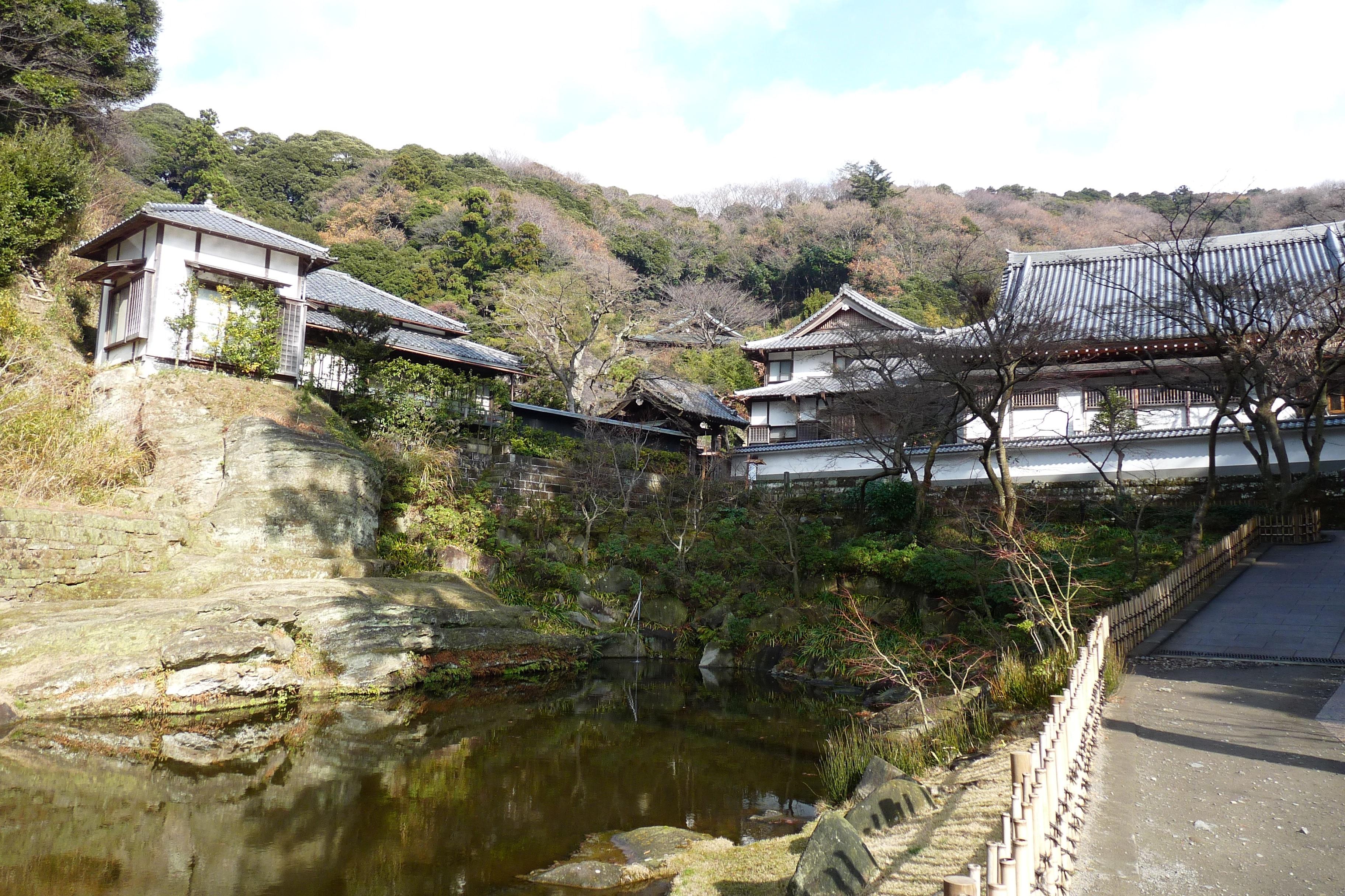 Engaku-ji, Kamakura, Kanagawa (Präfektur), Japan