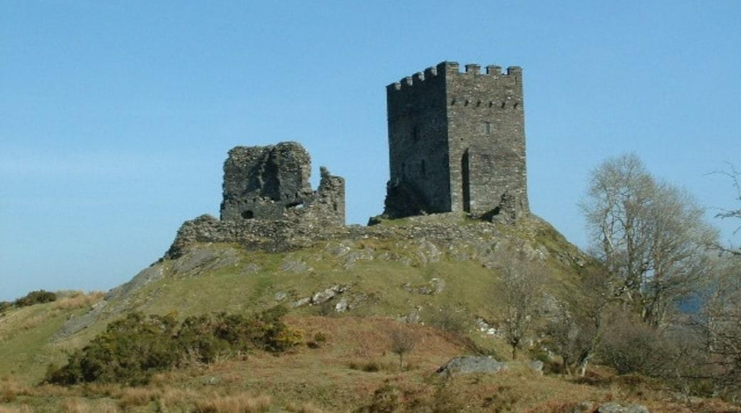 """Foto """"Dolwyddelan Castle"""" von Nigel Homer (CC BY-SA)/zugeschnittenes Original"""