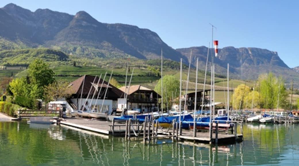 """Foto """"Kalterer See"""" von Simisa (CC BY-SA)/zugeschnittenes Original"""
