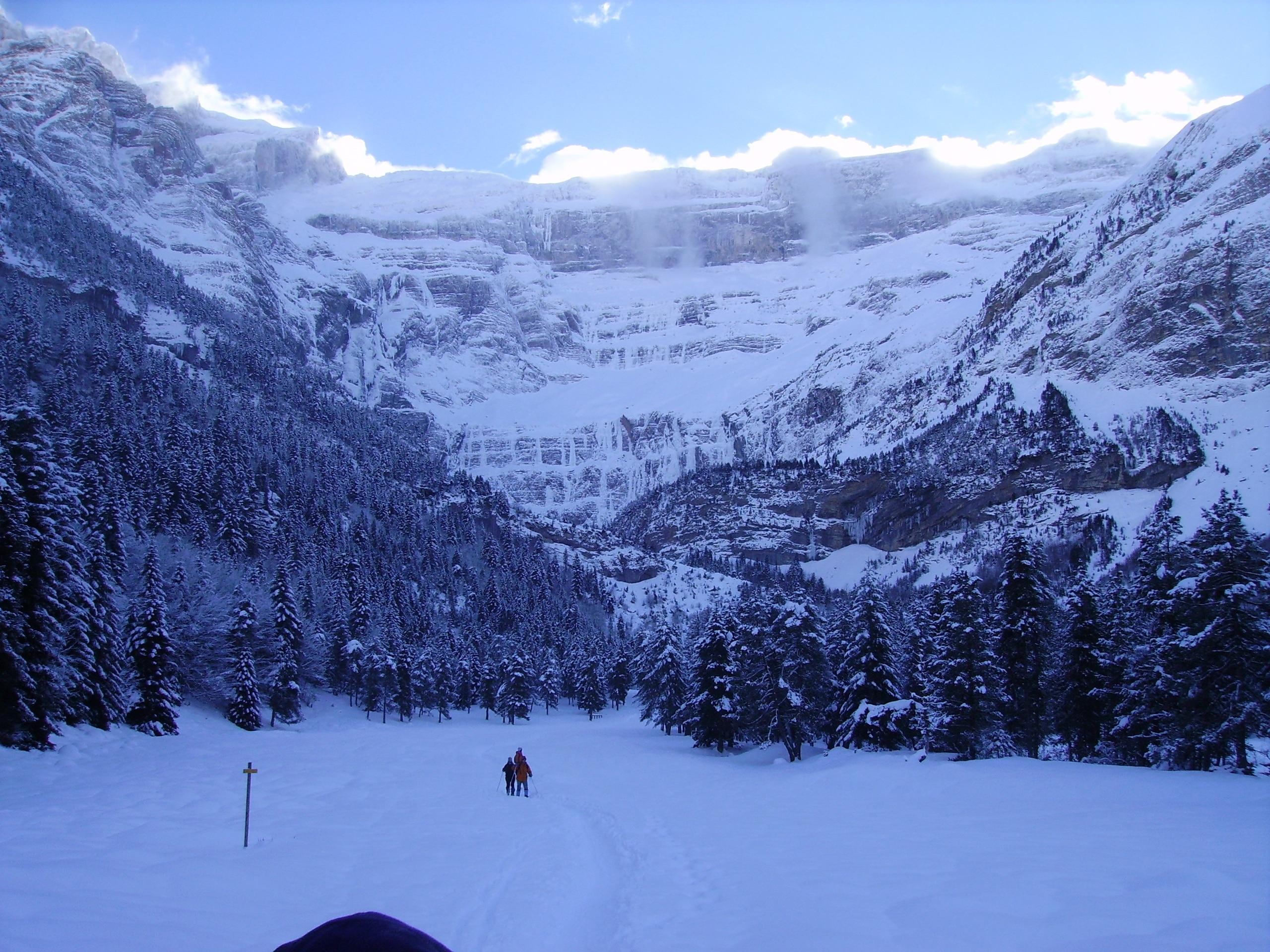 Gavarnie-Gedre, Hautes-Pyrenees, France