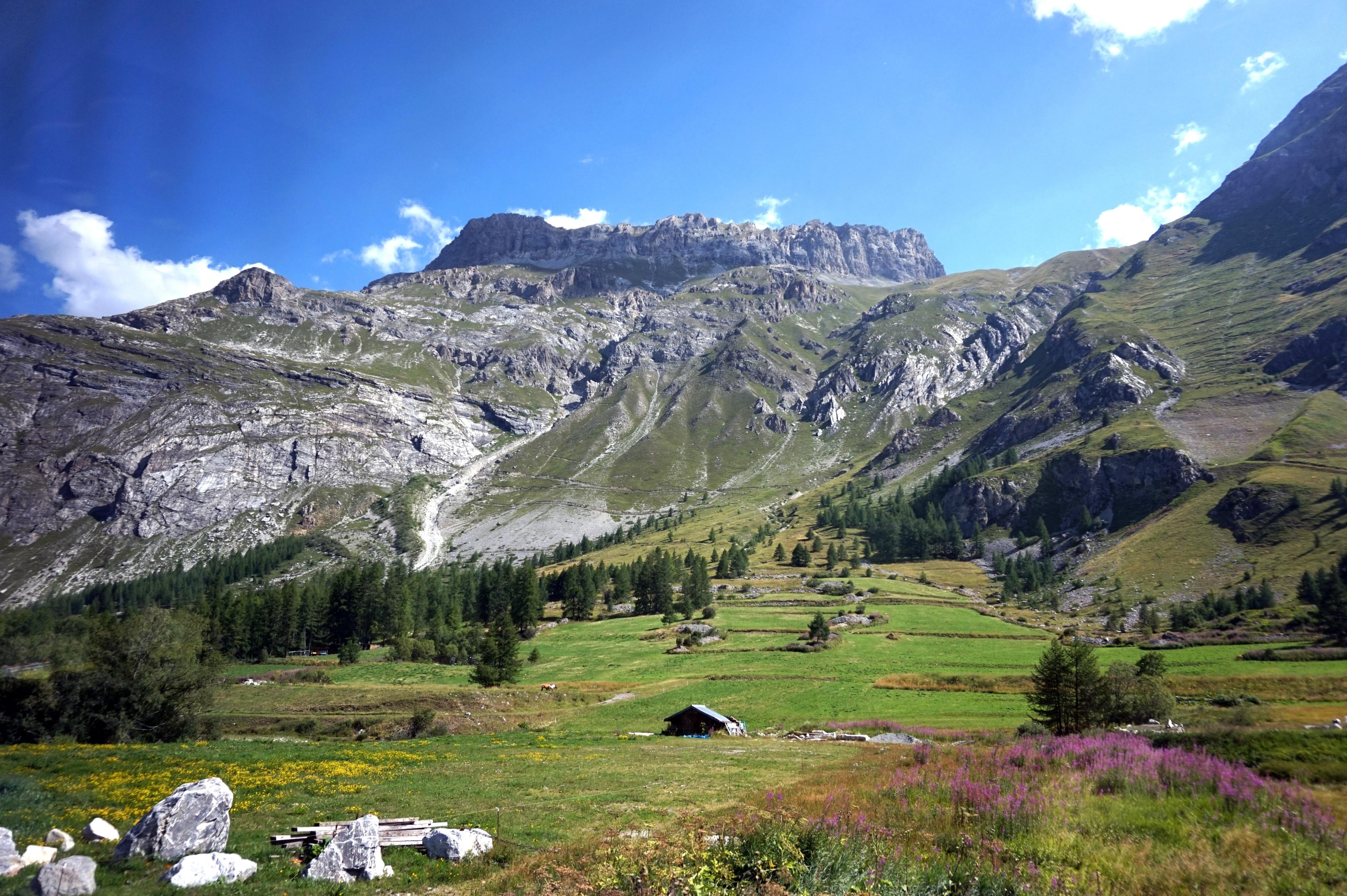 La Daille, Val-d'Isère, Savoie (Département), Frankreich