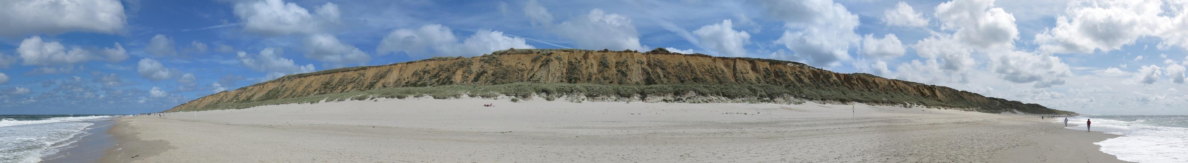Kampen Beach, Kampen (Sylt), Schleswig-Holstein, Germany