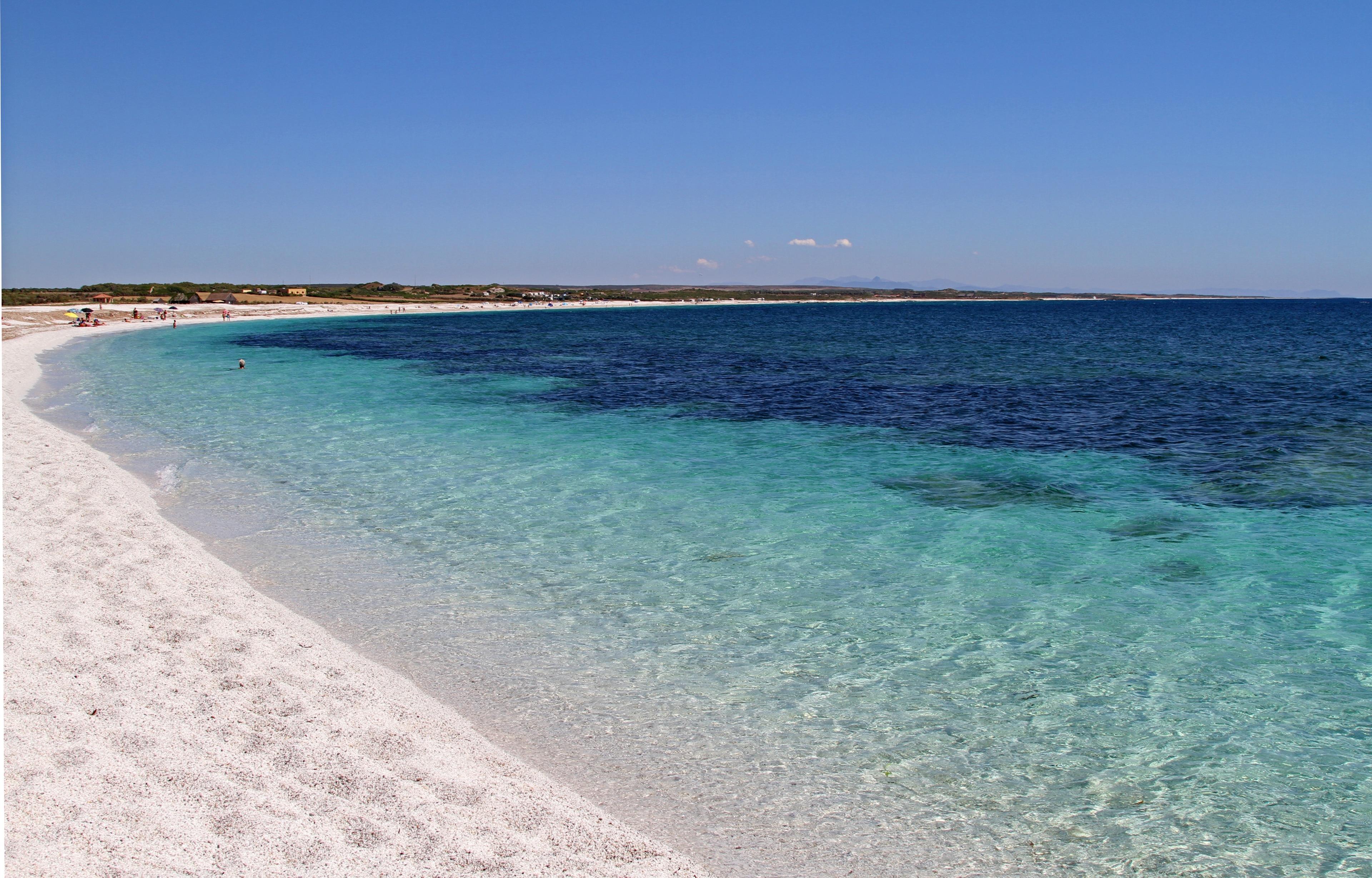 Mari Ermi Beach, Cabras, Sardinia, Italy