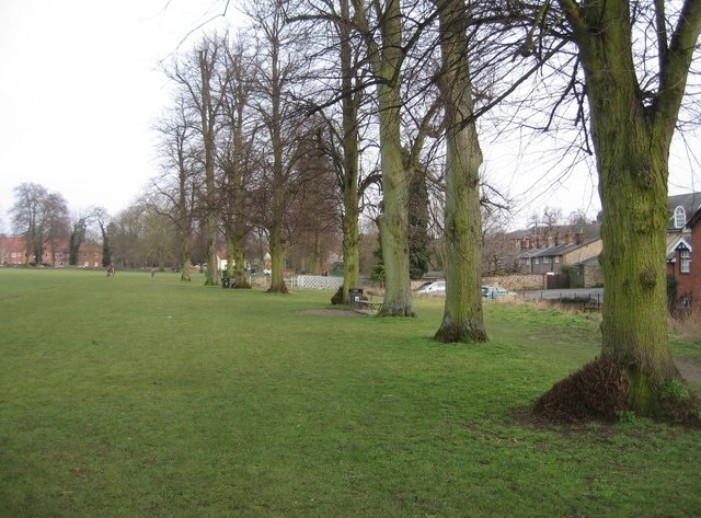 The Common (Park), Saffron Walden, England, Großbritannien