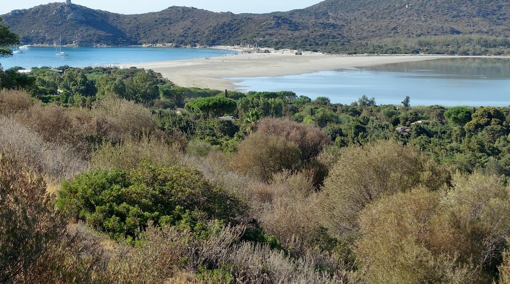 """Foto """"Playa de Porto Giunco"""" por Oltau (CC BY) / Recortada de la original"""