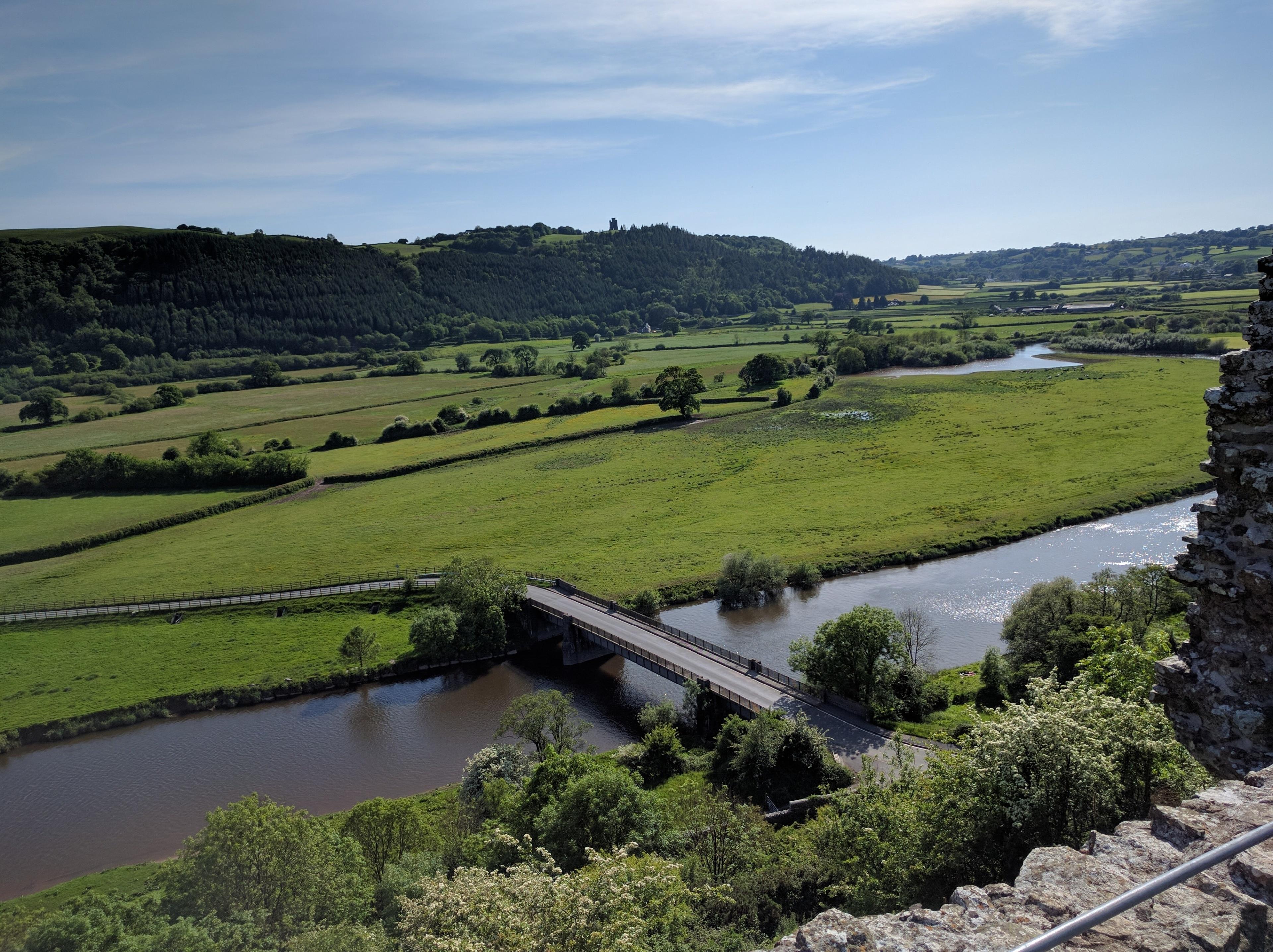Dryslwyn Castle, Carmarthen, Wales, Großbritannien