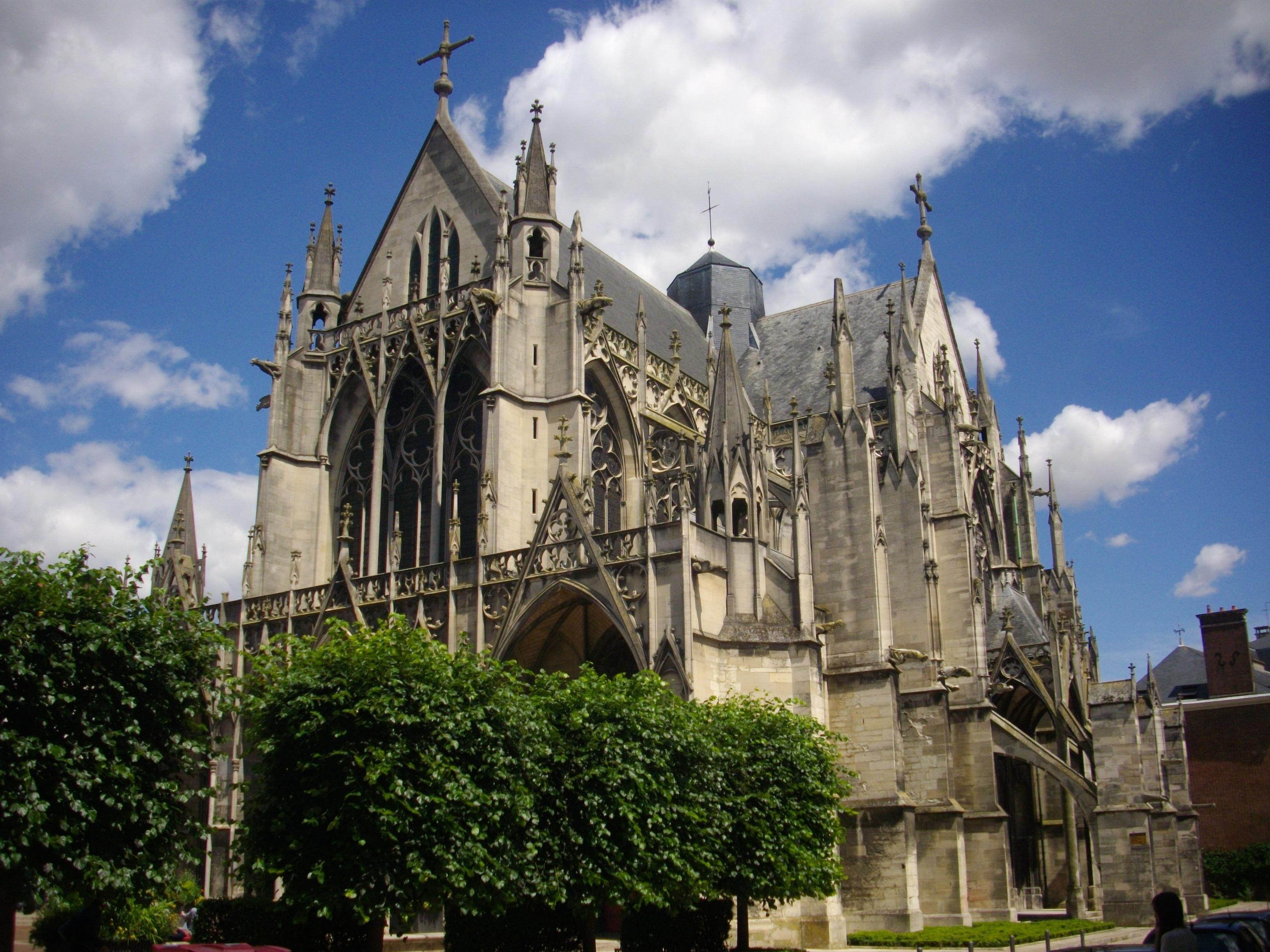 Basilique St-Urbain, Troyes, Aube, France