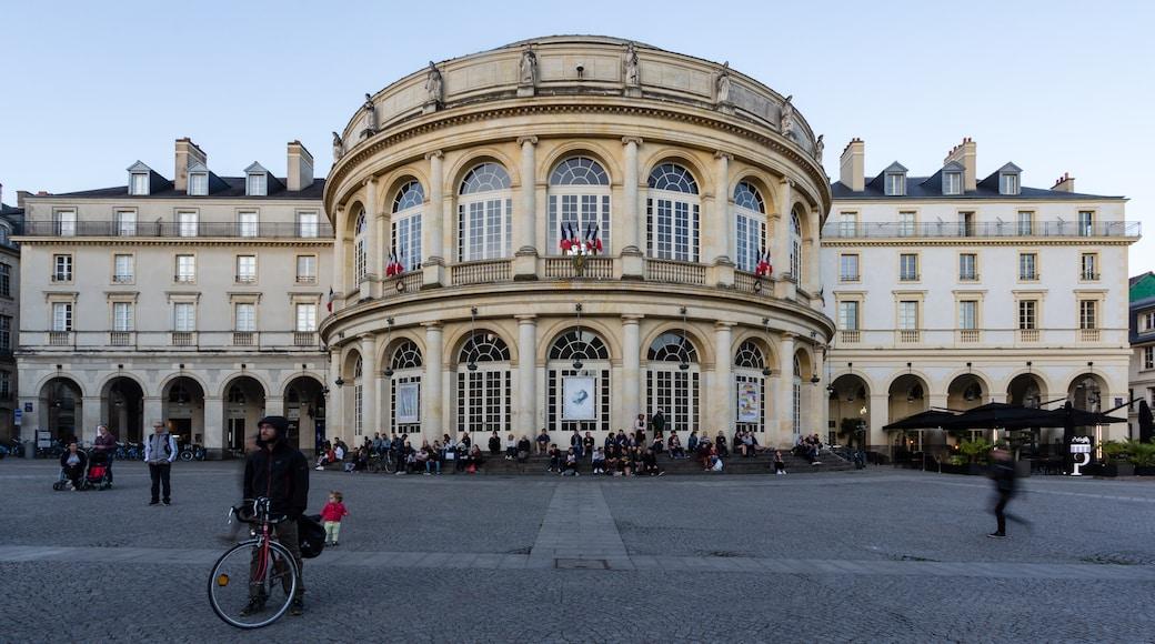 «Opéra de Rennes», photo de EdouardHue (CC BY-SA) / rognée de l'originale