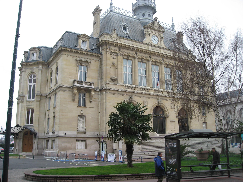 Asnières-sur-Seine, Département Hauts-de-Seine, Frankreich