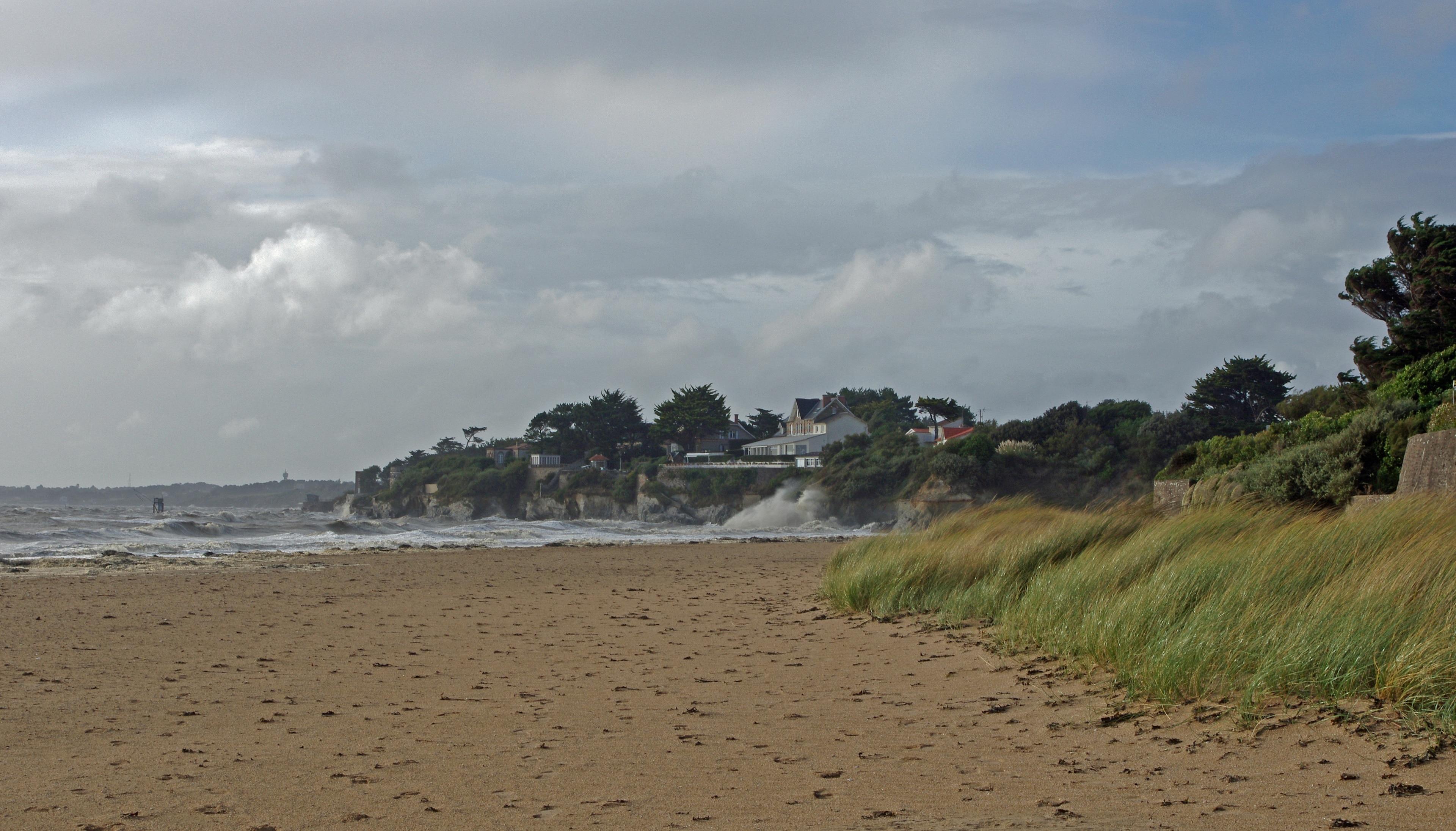 La Bernerie-en-Retz Beach, La Bernerie-en-Retz, Loire-Atlantique, France