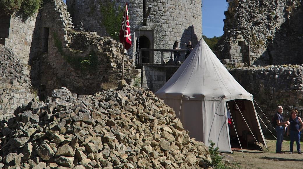 """Foto """"Schloss von Tonquedec"""" von Ghpu (page does not exist) (CC BY-SA)/zugeschnittenes Original"""