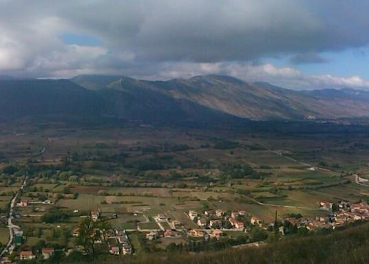 Tagliacozzo, Italien