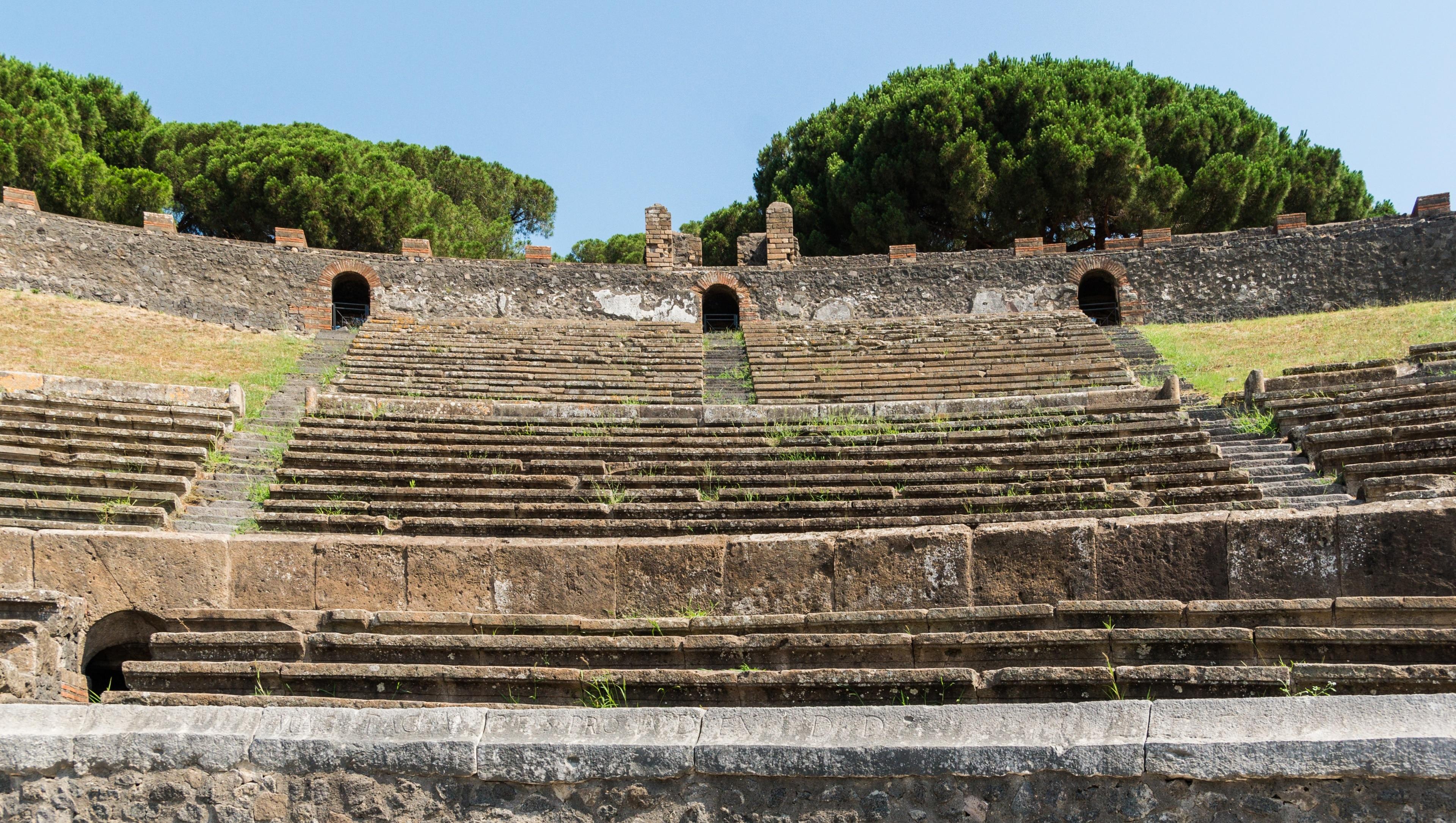 Amphitheater von Pompeji, Pompei, Kampanien, Italien