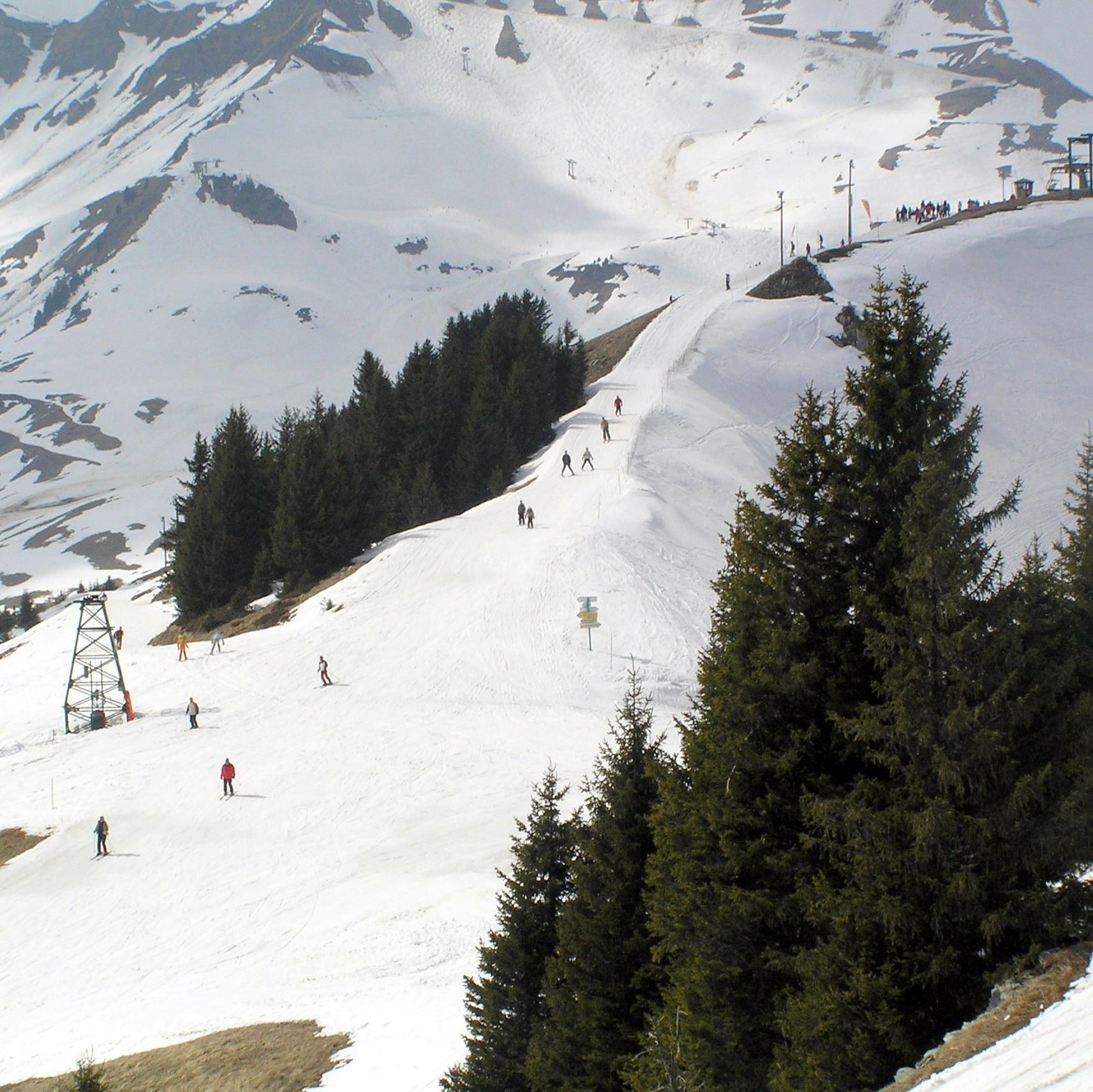 Champery Ski Resort, Champery, Valais, Switzerland