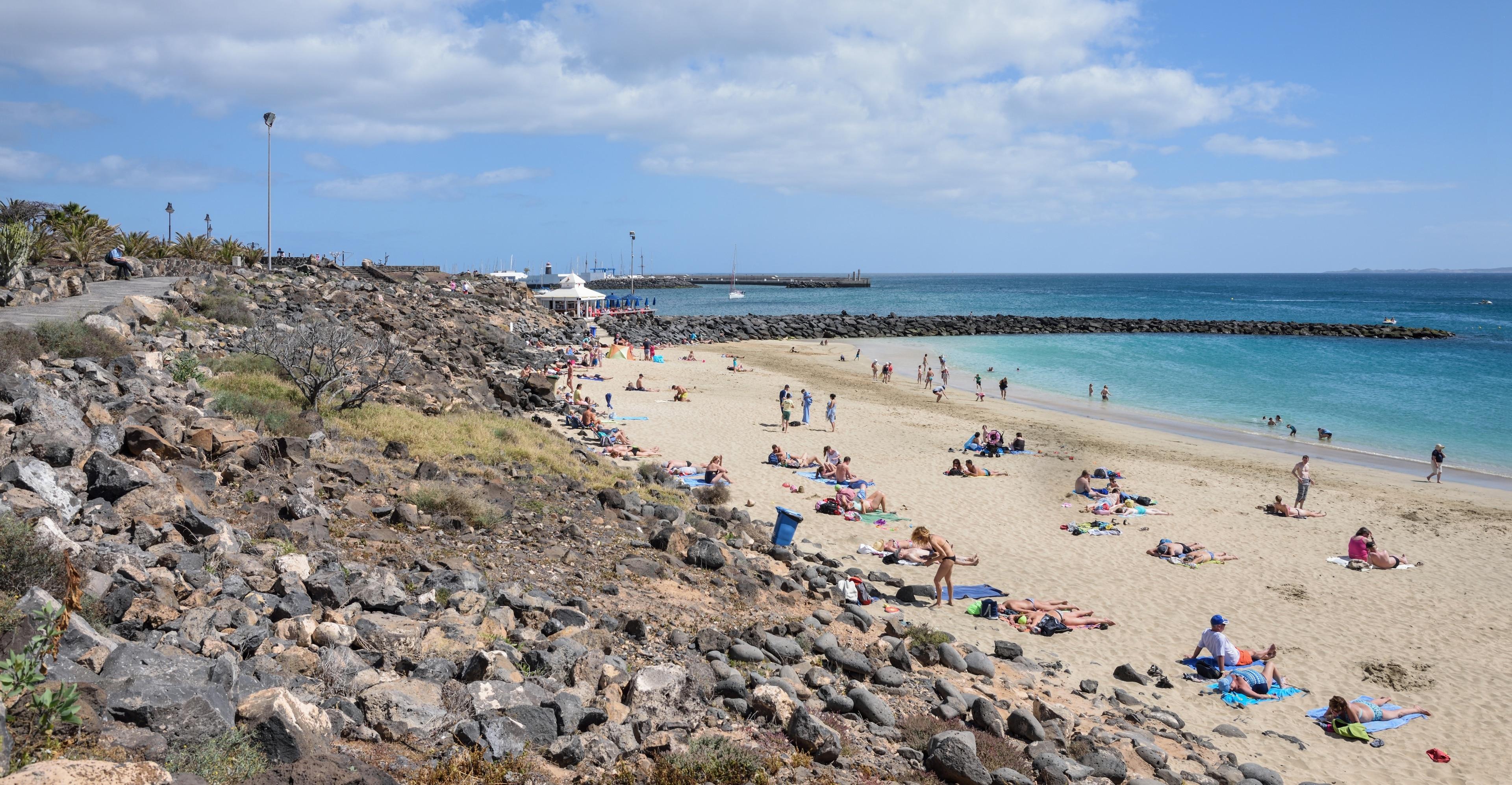 Dorada Beach, Yaiza, Canary Islands, Spain