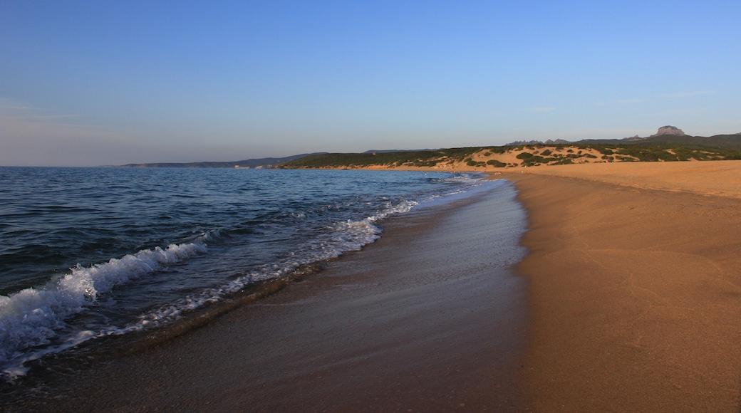 """Foto """"Spiaggia di Piscinas"""" di Discanto (CC BY-SA) / Ritaglio dell'originale"""