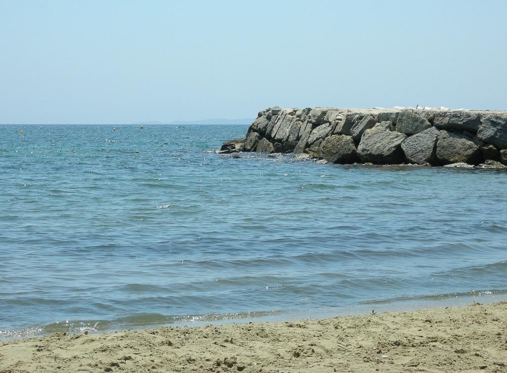 Miramar Beach, La Londe-les-Maures, Var, France