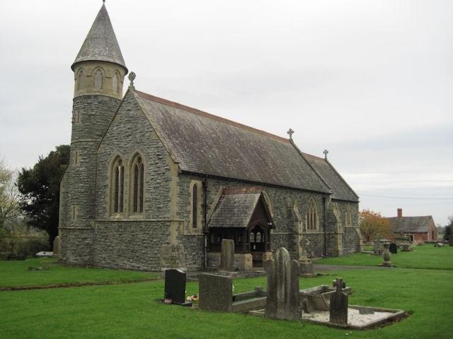 Llandysilio, Llanymynech, Wales, Verenigd Koninkrijk