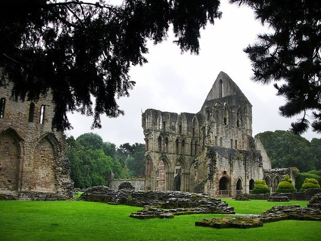 Wenlock Priory, Much Wenlock, England, United Kingdom