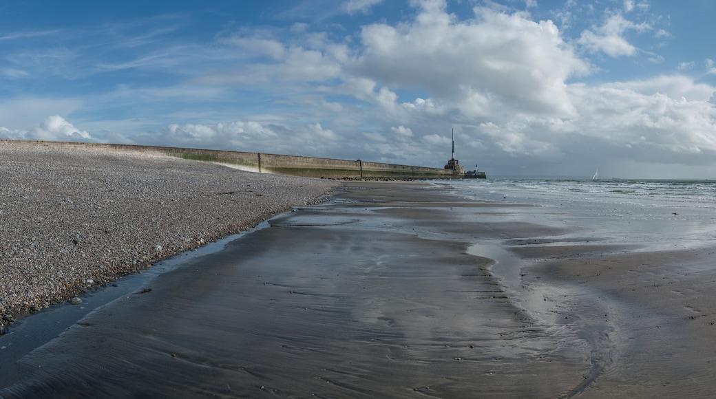 «La plage du Havre», photo de DXR (CC BY-SA) / rognée de l'originale