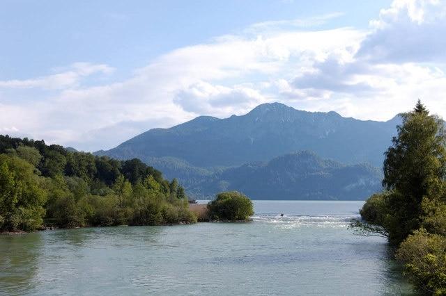 Kochel am See, Beieren, Duitsland