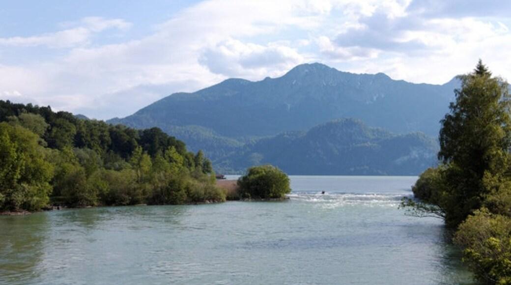 """Foto """"Kochel am See"""" von Ulrich Meier on geo.hlipp.de (CC BY-SA)/zugeschnittenes Original"""
