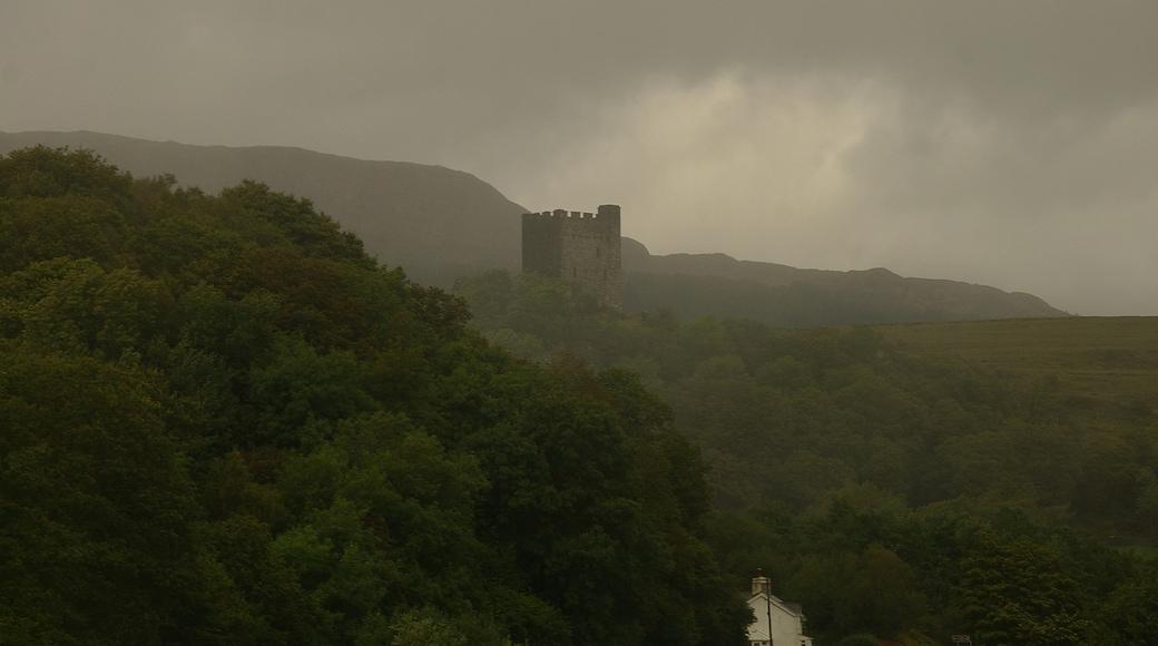 """Foto """"Dolwyddelan Castle"""" von Mattbuck (CC BY-SA)/zugeschnittenes Original"""