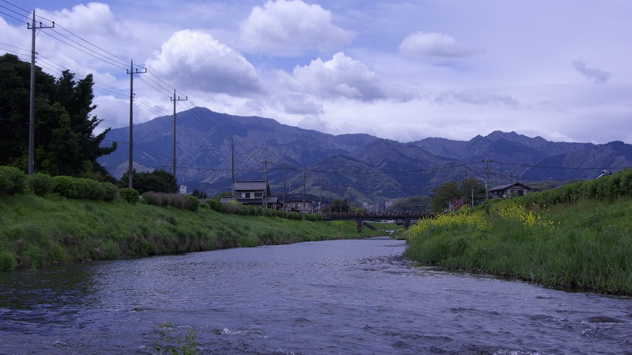 """Photo """"宮ヶ瀬方面"""" by SYM50cc EMR (Creative Commons Attribution 3.0) / Cropped from original"""