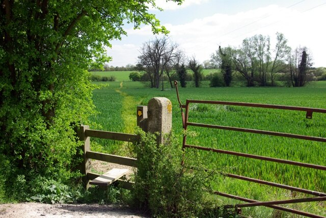 Flitch Way Country Park, Dunmow, England, United Kingdom