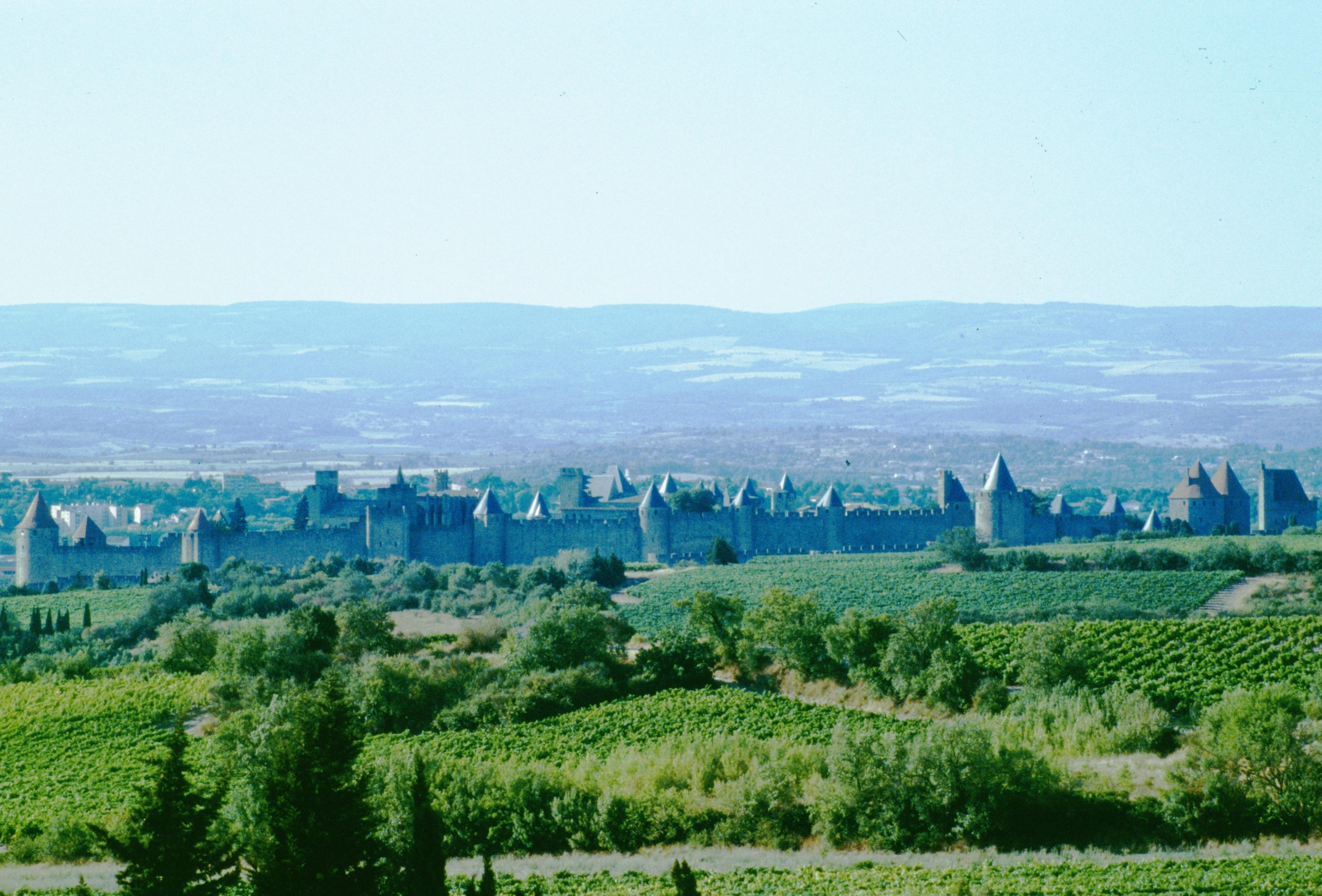 City of Carcassonne, Carcassonne, Aude, France