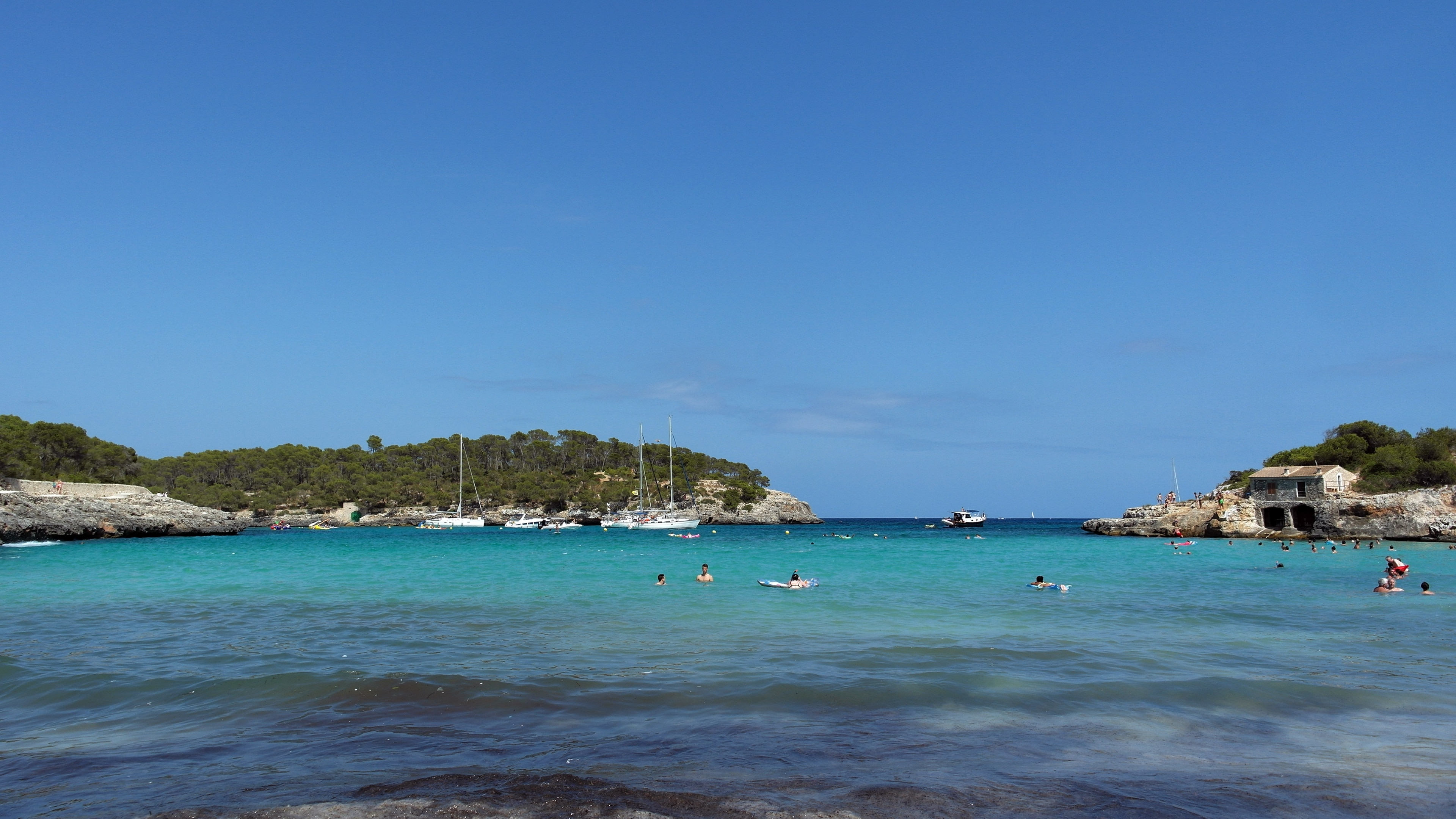 S'Amarador Beach, Santanyi, Balearic Islands, Spain