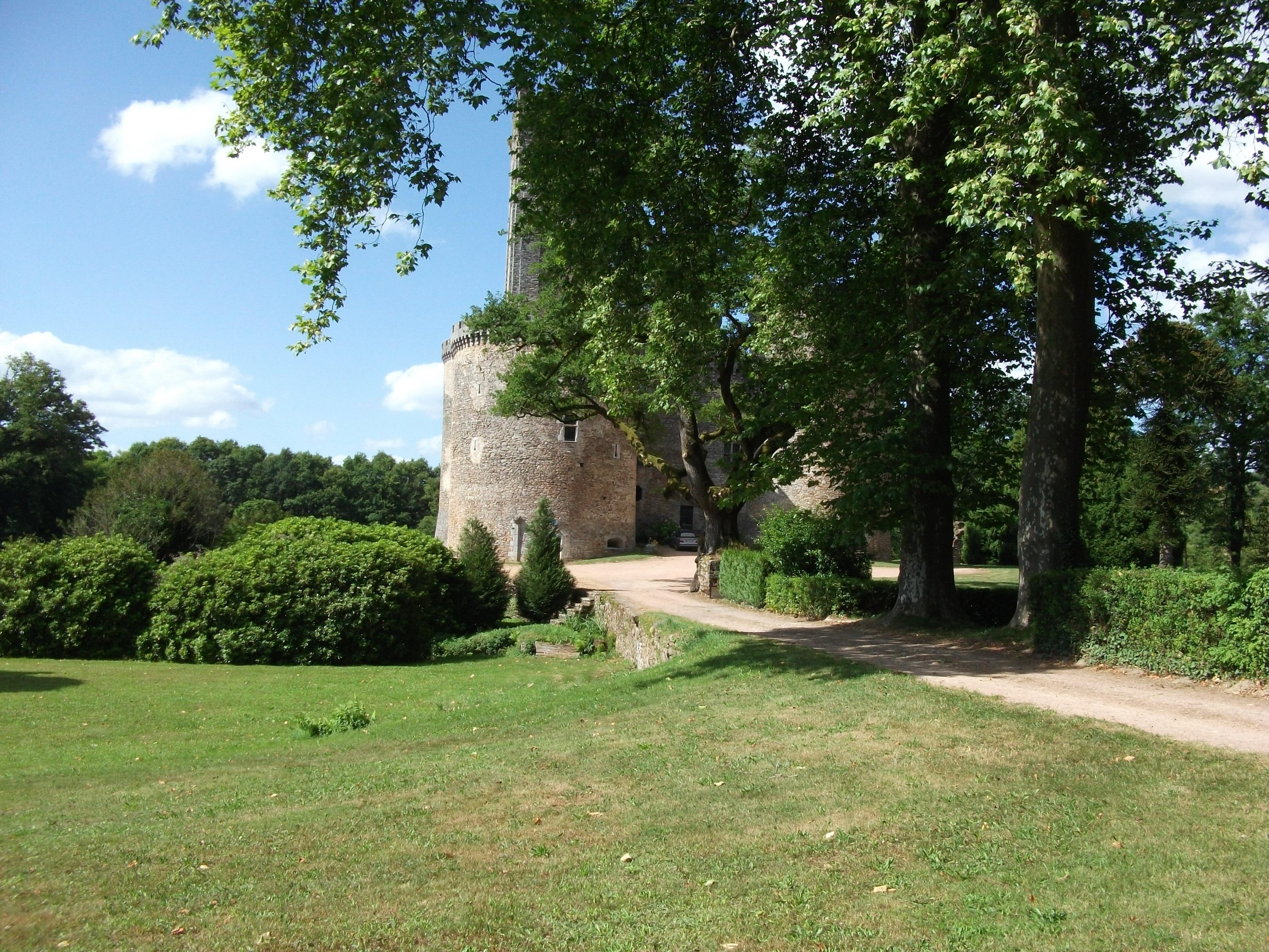 Chateau de Montbrun, Dournazac, Haute-Vienne, France