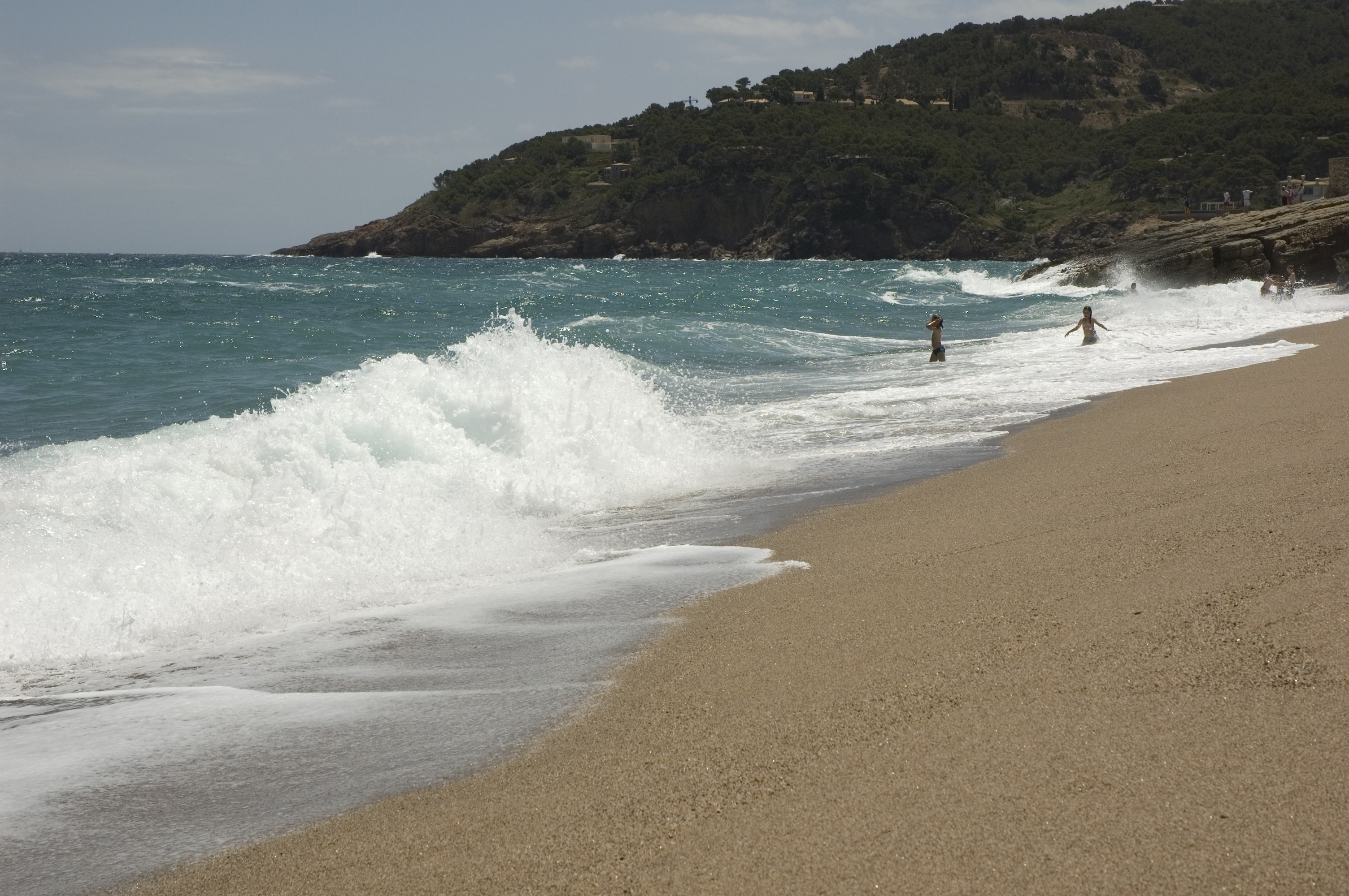 Playa de Pals, Pals, Cataluña, España
